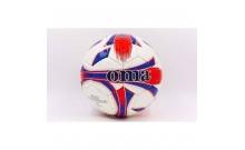Мяч футбольный №4 JOMA DX JM-4-1-PU белый (5 сл., сшит вручную, цвета в ассортименте) (Replica)