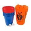 Panda Bucketball (Пляжный баскетбол с ведерками), красно-синие ведерки