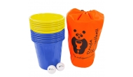 Изображение - Panda Bucketball (Пляжный баскетбол с ведерками), желто-синие ведерки