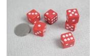 Изображение - Кости игральные кубики, 15 мм красные, Китай