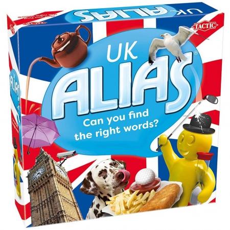 Alias UK (Алиас. Великобритания) на английском языке. Tactic 55710