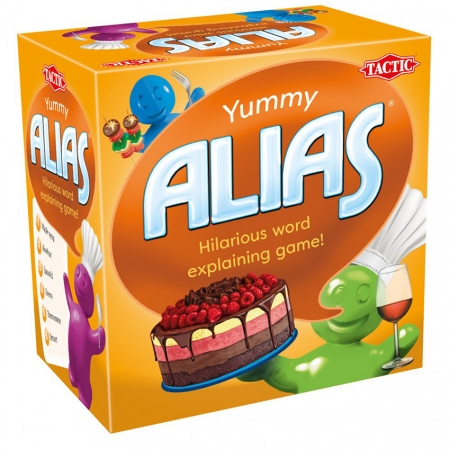 Alias Yummy (Алиас. Вкуснятина) на английском языке. Tactic 55832