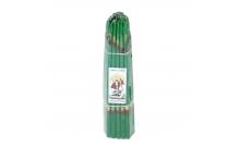 Иерусалимские свечи  восковые (зеленые)