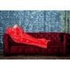 "Плед с рукавами ""Красные звезды"" (микрофибра, 200 см) Рукоплед"