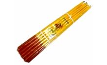 Иерусалимские свечи восковые (желтые)