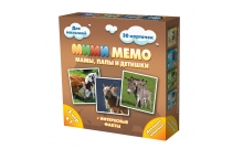 Ми-Ми-Мемо Домашние животные - развивающая мемо игра для самых маленьких. Нескучные игры (8051)
