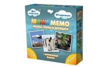 Ми-Ми-Мемо Птицы - развивающая мемо игра для самых маленьких. Нескучные игры (8052)
