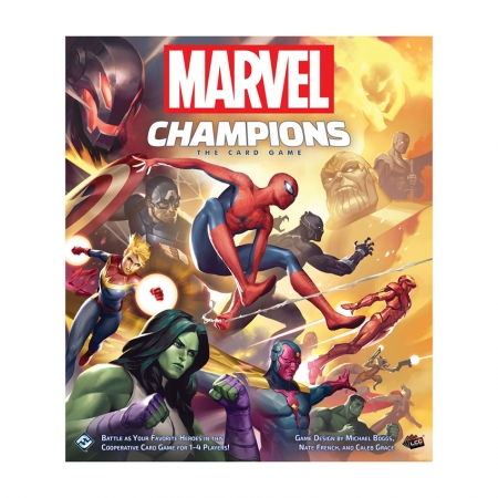 Настольная игра Marvel Champions: The Card Game. Fantasy Flight Games