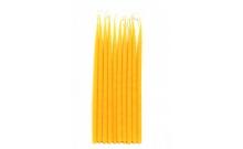 Свечи маканые желтые 10 шт