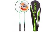 Изображение - Набор для бадминтона 2 ракетки в чехле COKA PRO-309 (сталь, цвет в ассорт)