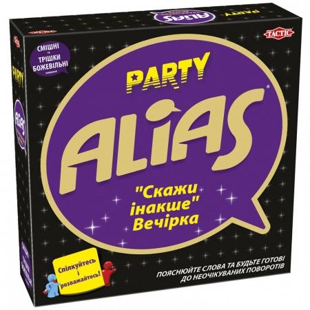 Alias Party українською. Скажи інакше Вечірка - настільна гра. Tactic (58138)