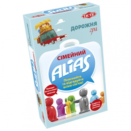 Сімейний Еліас українською. Дорожня гра. Tactic (58111)