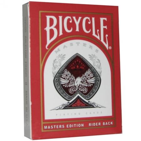 Карты Bicycle Masters Standard Index Red
