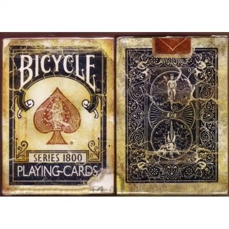Карты Bicycle Vintage Series 1800 Blue от Ellusionist