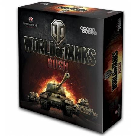 Настольная игра World of Tanks: Rush. 2-е издание (1341)