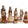 Шахматы из полистоуна Грюнвальд, 60 см, 3160