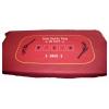 Сукно для покера красного цвета, Испания , 160 х 100 см