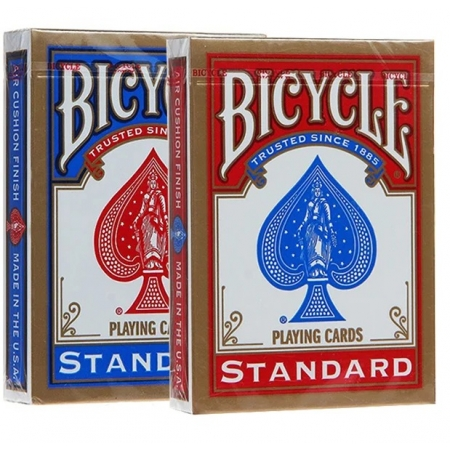 Карты Bicycle Standard Index 2 колоды (Red+Blue), 1001781