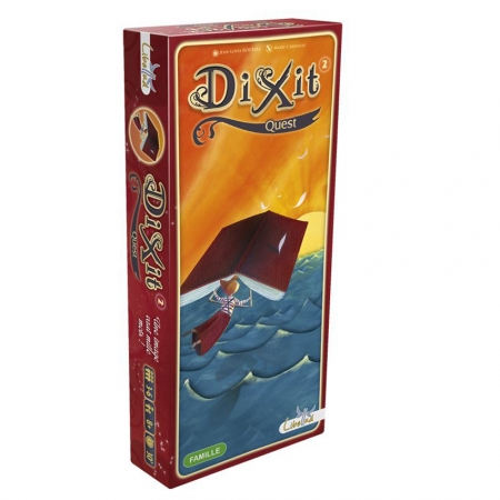 Dixit 2 Quest (Квест). Дополнение к Диксит. Asmodee (0113)
