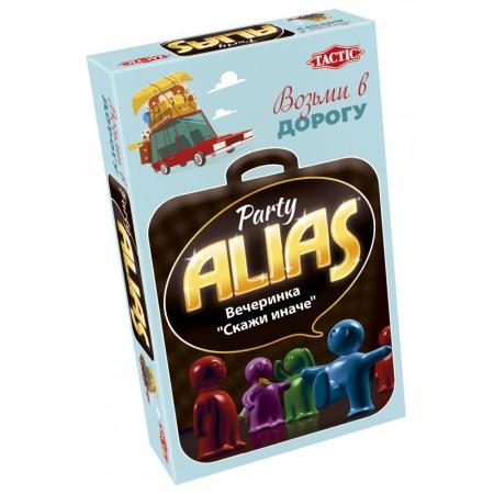 Алиас. Скажи иначе: Вечеринка | Дорожная версия, рус | Alias Party Compact. Tactic (53370)