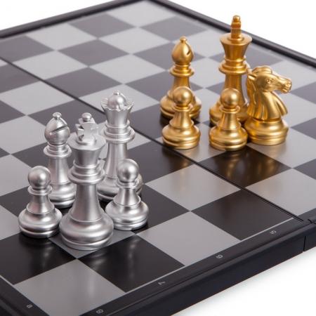 Изображение - Шахматы магнитные Gold-Silver, 32x32 см, пластик (4812-A)