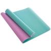 Коврик для йоги и фитнеса TPE 6 мм двухслойный SP-Planeta FI-1515-1 (183 x 61 см) Мята-сирень