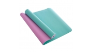 Изображение - Коврик для йоги и фитнеса TPE 6 мм двухслойный SP-Planeta FI-1515-1 (183 x 61 см) Мята-сирень