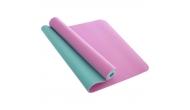 Изображение - Коврик для йоги и фитнеса TPE 6 мм двухслойный SP-Planeta FI-1515-2 (183 x 61 см) Сирень-мята