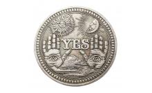 Бронзовая монета принятия решений