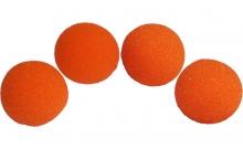 Изображение - Спонжи для фокусов (поролоновые шарики) 4 шт, Super Soft Sponge Balls 50 мм (Orange). Magic by Gosh