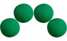 Изображение - Спонжи для фокусов (поролоновые шарики) 4 шт, Super Soft Sponge Balls 50 мм (Green). Magic by Gosh
