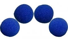 Изображение - Спонжи для фокусов (поролоновые шарики) 4 шт, HD Ultra Soft Sponge Balls 40 мм (Blue). Magic by Gosh