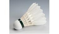 Изображение - Воланы для бадминтона перьевые белые/цветные 3 шт
