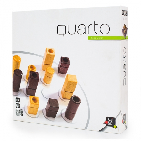 Настольная игра Gigamic QUARTO | Кварто (30041)