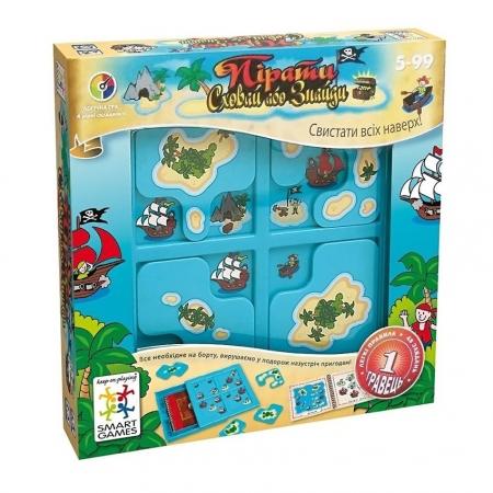 Настольная игра Пірати: Сховай або знайди (Пираты). SMART GAMES (SG 102 UKR)