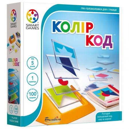 Изображение - Настольная игра-головоломка Колір Код (Цветовой Код, Colour Code) Smart Games (SG 090 UKR)