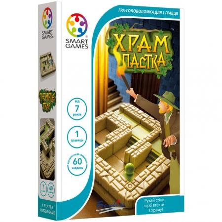 Настольная игра Храм-пастка SMART GAMES (SG 437 UKR)