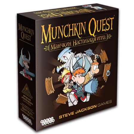 Изображение - Настольная игра Манчкин Квест   Munchkin Quest. Hobby World (1383)