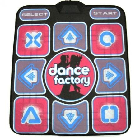 Танцевальный коврик, TV и PC. Dance factory. 16 bit Stepmania