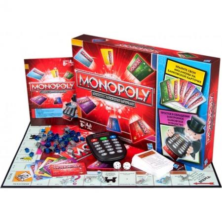 Настольная игра Монополия с банковскими карточками (старая версия)