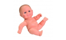 Пупс младенец девочка, без одежды, 22 см, Paola Reina, 31009