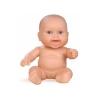 Пупс младенец девочка европейка, без одежды, 22 см, Paola Reina, 31013
