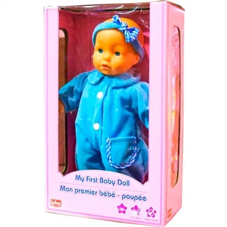 Пупс мягкий, голубой, 30 см, Lotus Onda, 12561-1