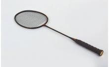Ракетка для бадминтона профессиональная цельная Дубл. (1шт+PVC чехол) YONEX BD-5938 (карбон, черный)