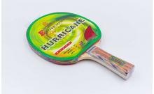 Ракетка для настольного тенниса 1 штука GD HURRICANE 4star MT-5690 (древесина, резина) 92411