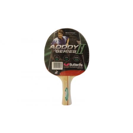 Ракетка для настольного тенниса BUTTERFLY (1шт) 16260 ADDOY II-F1 TT-BAT (древесина, резина)
