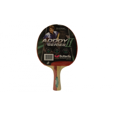 Ракетка для настольного тенниса BUTTERFLY (1шт) 16320 ADDOY II-F2 (древесина, резина)