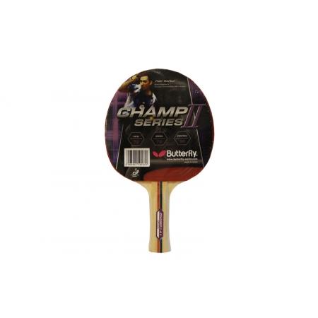 Ракетка для настольного тенниса BUTTERFLY (1шт) 16340 CHAMP II-A1 TT-BAT (древесина, резина)