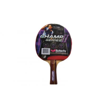 Ракетка для настольного тенниса BUTTERFLY (1шт) 16360 CHAMP II-F2 (древесина, резина)
