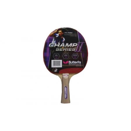Ракетка для настольного тенниса BUTTERFLY (1шт) 16370 CHAMP II-F3 (древесина, резина)